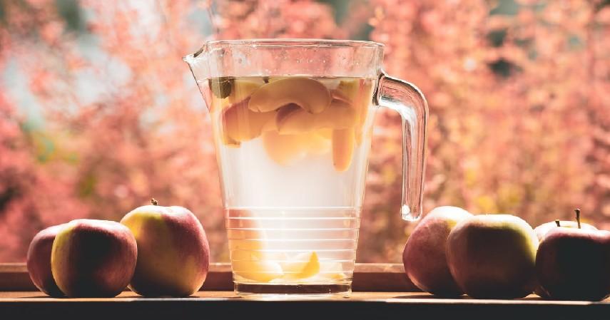 Infused Water - 8 Alternatif Morning Drink untuk yang Tidak Bisa Minum Kopi