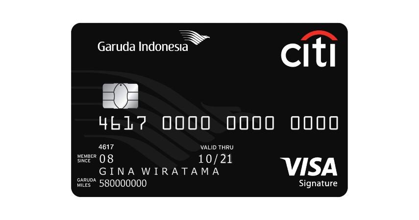 Jenis Kartu Kredit Citibank untuk Liburan - Garuda Indonesia Citi Card