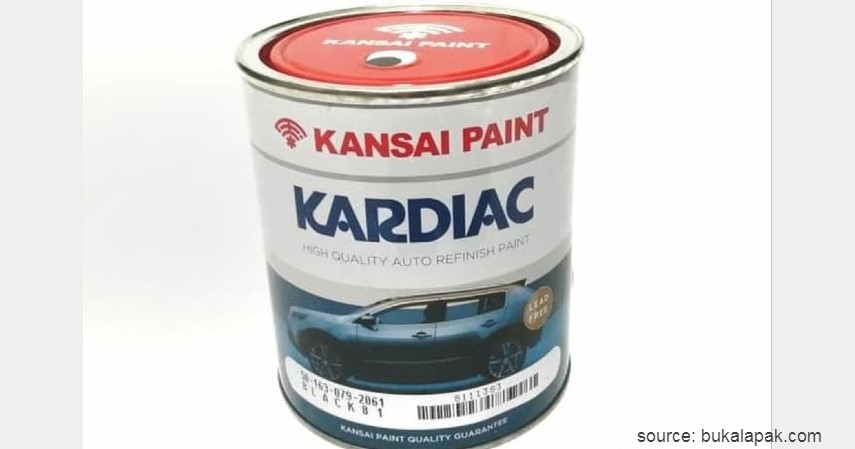 Kansai Kardiac - 11 Merk Cat Mobil Terbaik dengan Harga Terjangkau