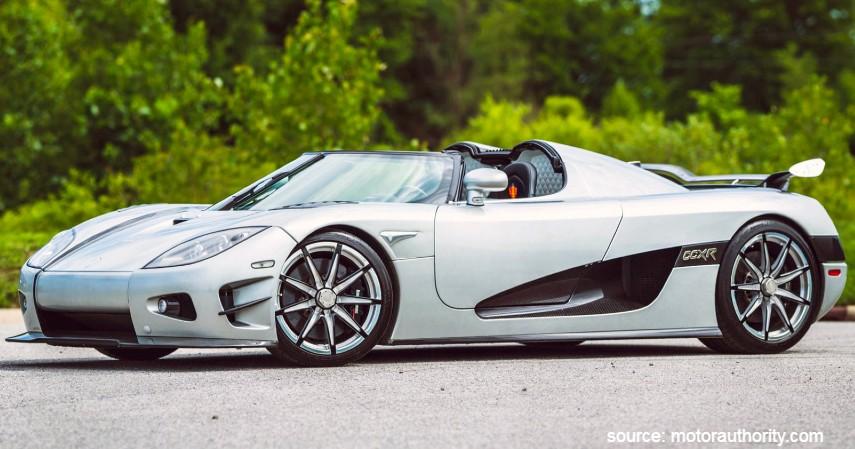 Koenigsegg CCXR Trevita - 10 Merk Mobil Mewah di Dunia dan di Indonesia Harganya Bikin Melongo