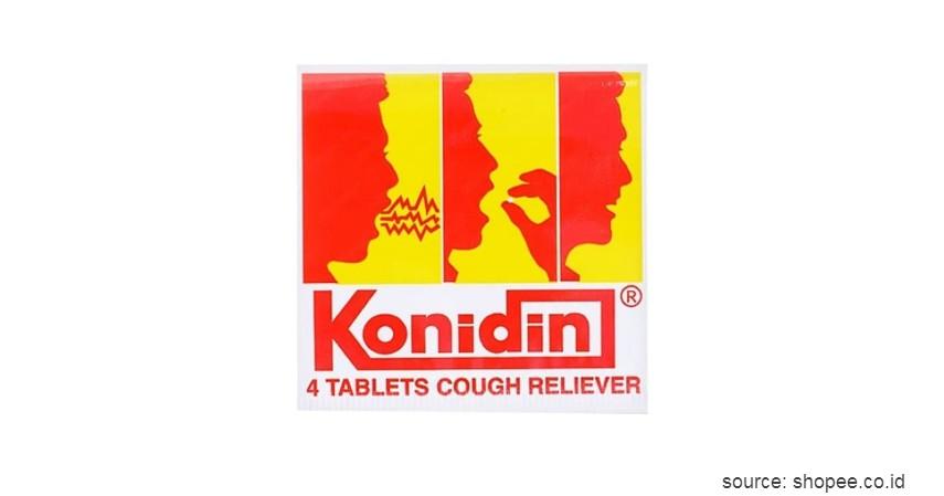 Konidin - 10 Obat Batuk Kering dan Berdahak Paling Ampuh Beserta Harganya