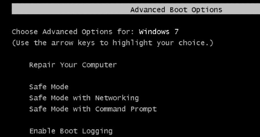 Langkah Atasi Lupa Password Laptop - Aktifkan Safe Mode