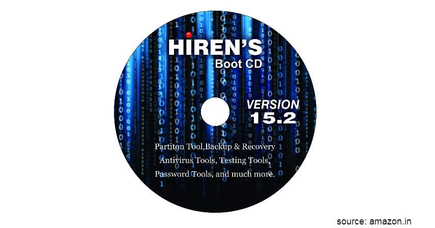 Langkah Atasi Lupa Password Laptop - Menggunakan Hirens Boot CD