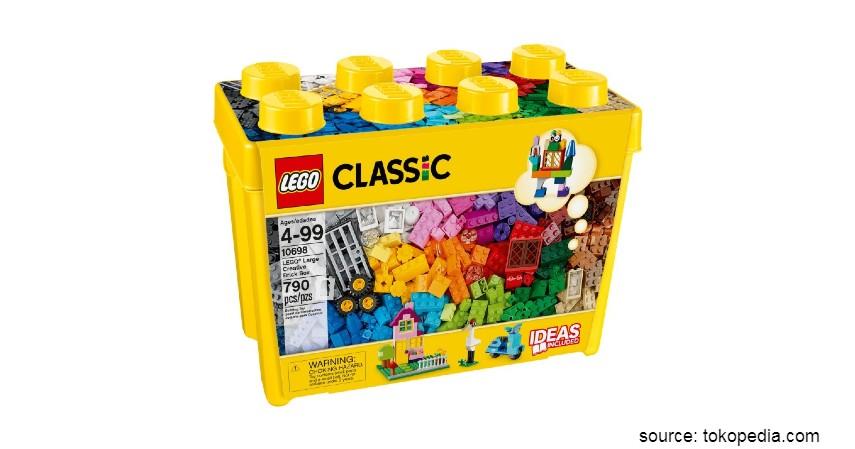 Mainan Edukasi untuk Anak - Bongkar Pasang Lego Classic Large Creative Brick Box
