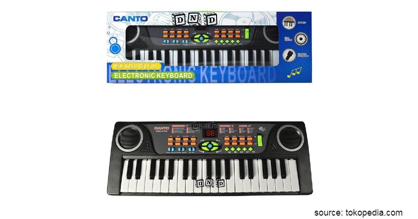 Mainan Edukasi untuk Anak - Canto Electronic Keyboard