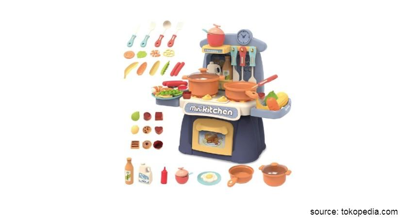 Mainan Edukasi untuk Anak - Mainan Dapur-dapuran Tomindo Mini Kitchen
