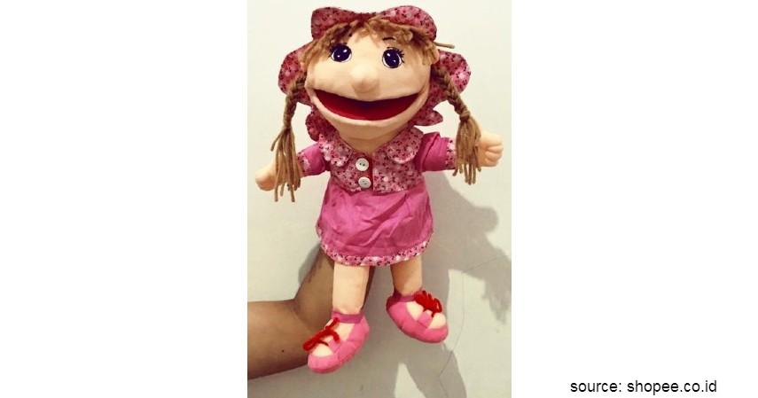 Mainan Edukasi untuk Anak - Muppet SNI ORI Seri O 40 cm