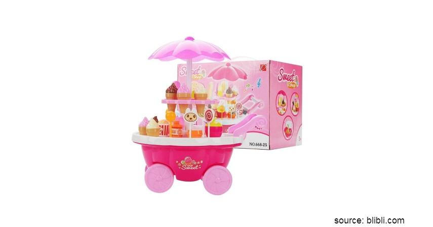 Mainan Edukasi untuk Anak - Sweet Shop Luxury Candy Cart