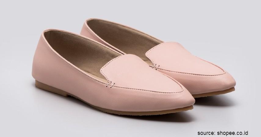 Merk Flat Shoes Lokal Terbaik - Adorable Project – Kirwood Pink Flat Shoes