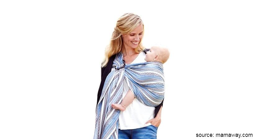 Merk Gendongan Bayi Terbaik - Mamaway Baby Sling