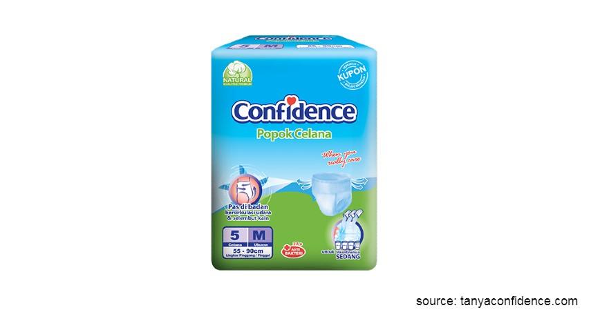 Merk Popok Dewasa yang Bagus - Confidence Popok Celana