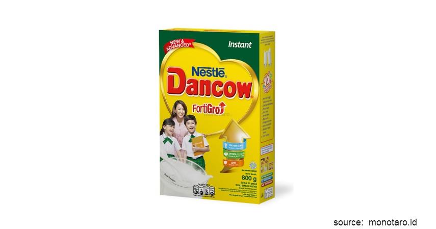 Merk Susu Peninggi Badan Terbaik - Dancow FortiGro Instant