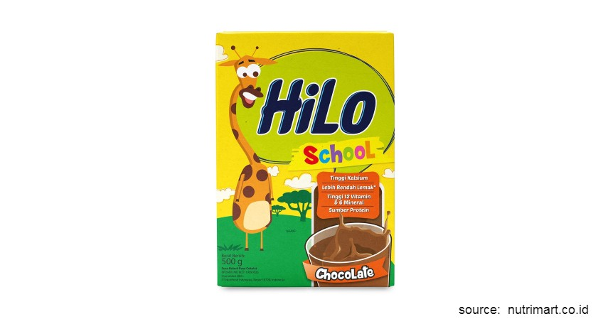 Merk Susu Peninggi Badan Terbaik - HiLo School