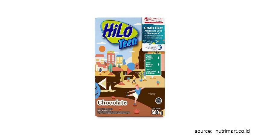 Merk Susu Peninggi Badan Terbaik - HiLo Teen