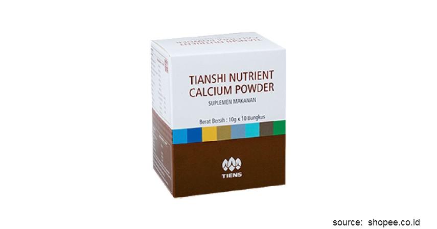 Merk Susu Peninggi Badan Terbaik - Tiens Tianshi Nutrient Calcium Powder
