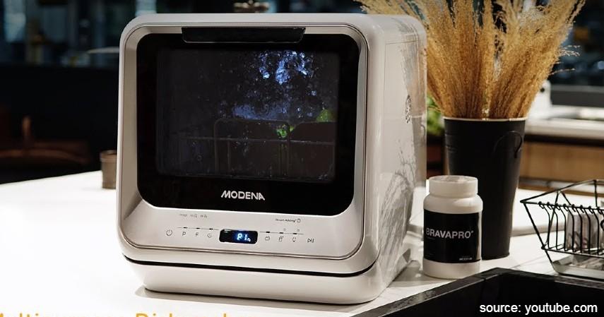 Modena WS 1020G Portable Dishwasher - 7 Merk Mesin Pencuci Piring Terbaik Harga di Bawah Rp10 Juta