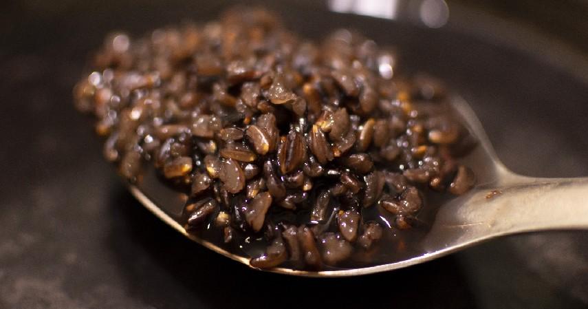 Nasi hitam - 4 Jenis Nasi Beda Warna Beda Gizi