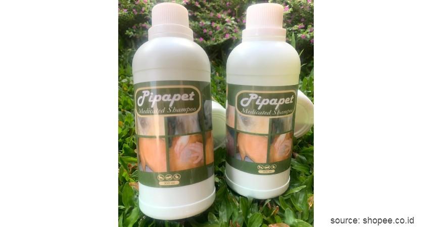 Pipapet Medicated Shampoo - 8 Rekomendasi Shampo Terbaik untuk Anjing Beserta Tips Memilihnya
