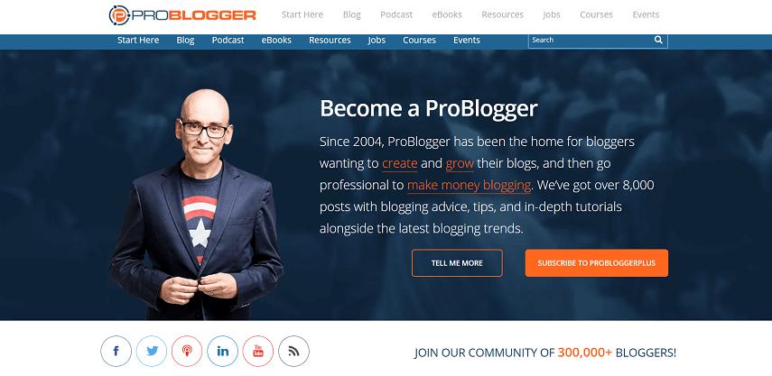 Problogger com - 10 Situs Cari Kerja Sampingan Gratis Aman dan Mudah Digunakan