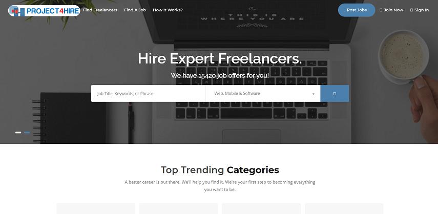 Project4Hire co - 10 Situs Cari Kerja Sampingan Gratis Aman dan Mudah Digunakan