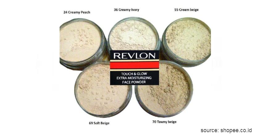 Revlon Touch and Glow - 10 Rekomendasi Bedak Tabur Terbaik dengan Harga Terjangkau