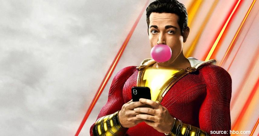 Shazam 2019 - 7 Film Superhero yang Baik Ditonton Anak