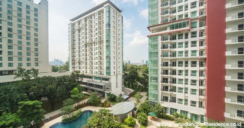 Woodland Park Residence - Apartemen Murah di Jakarta untuk Staycation