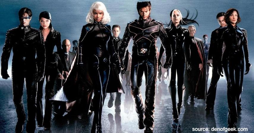 X-Men 2000 - 7 Film Superhero yang Baik Ditonton Anak