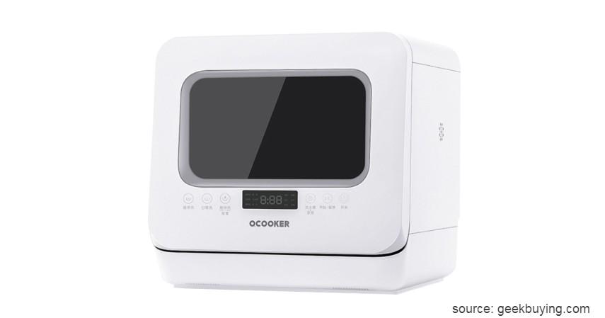 Xiaomi Ocooker Portable Dishwasher - 7 Merk Mesin Pencuci Piring Terbaik Harga di Bawah Rp10 Juta