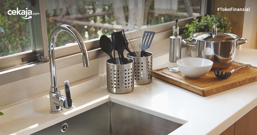 10 Alat Dapur yang Paling Banyak Mengandung Kuman dan Bakteri