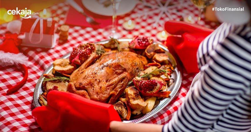 6 Ide Hidangan Natal nan Lezat, Siap Disantap Bersama Keluarga