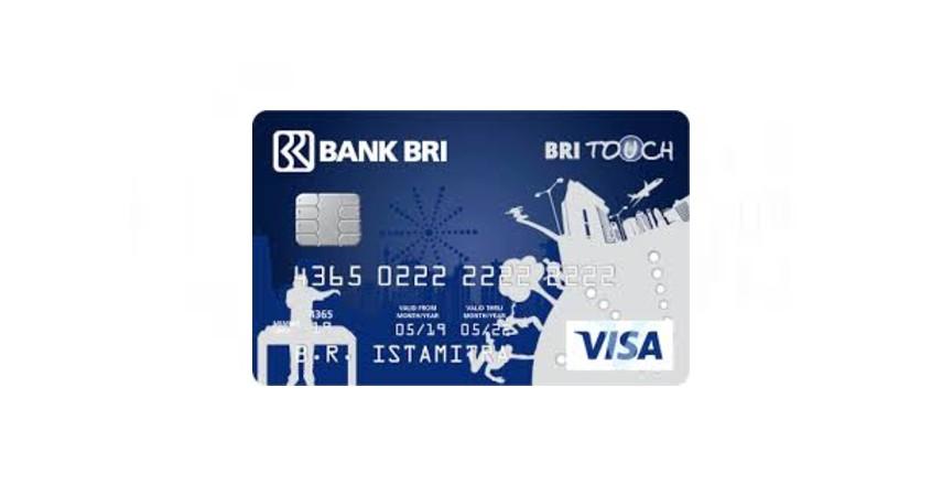 BRI Touch Visa - Daftar Kartu Kredit Bebas Iuran Tahunan
