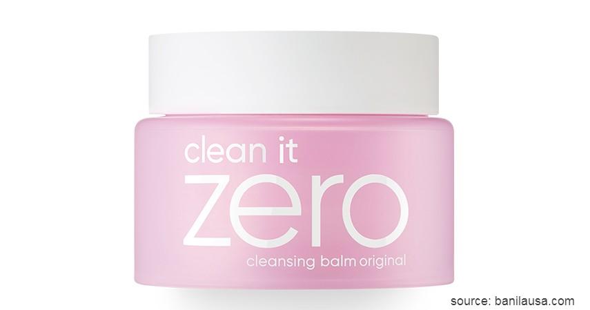 Banila Co Clean It Zero Cleansing Balm Original - 8 Skin Care Korea Terbaik untuk Semua Jenis Kulit