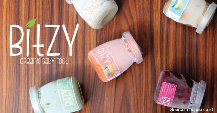 Bitzy Organic Baby Puree - 8 Merek Bubur Bayi Instan Terbaik dengan Komposisi Bergizi