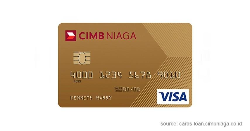 CIMB Niaga Gold - Daftar Kartu Kredit Bebas Iuran Tahunan