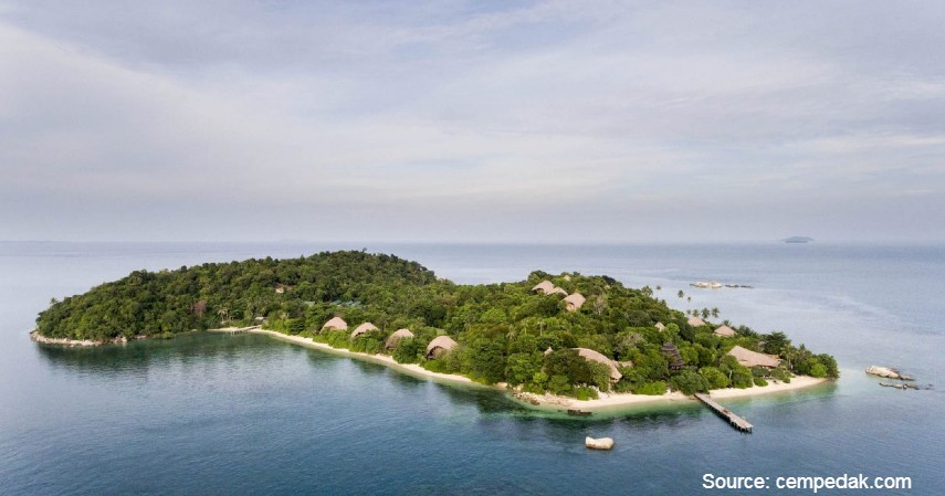 Cempedak Private Island - 10 Private Island Resort Terbaik di Indonesia Pemandangan Super Indah