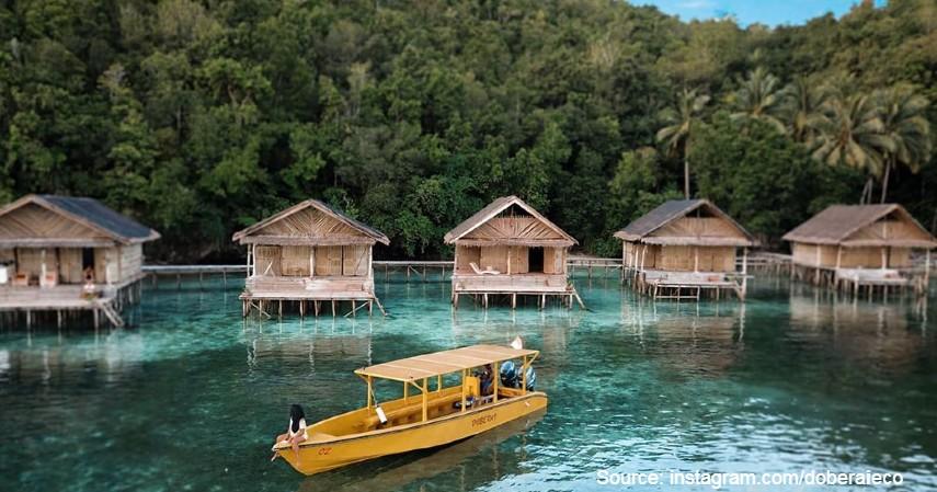 Doberai Private Island - 10 Private Island Resort Terbaik di Indonesia Pemandangan Super Indah