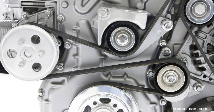 Fanbelt atau Drivebelt yang Putus - Penyebab AC Mobil Tidak Dingin Beserta Solusi