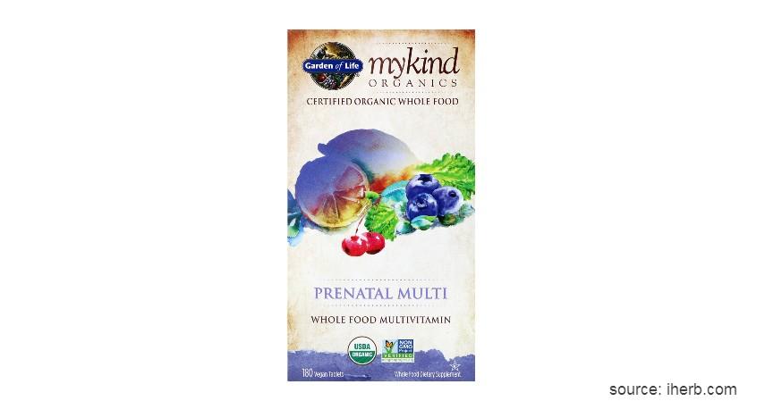 Garden of Life Mykind Organics Prenatal - Vitamin Ibu Hamil Terbaik
