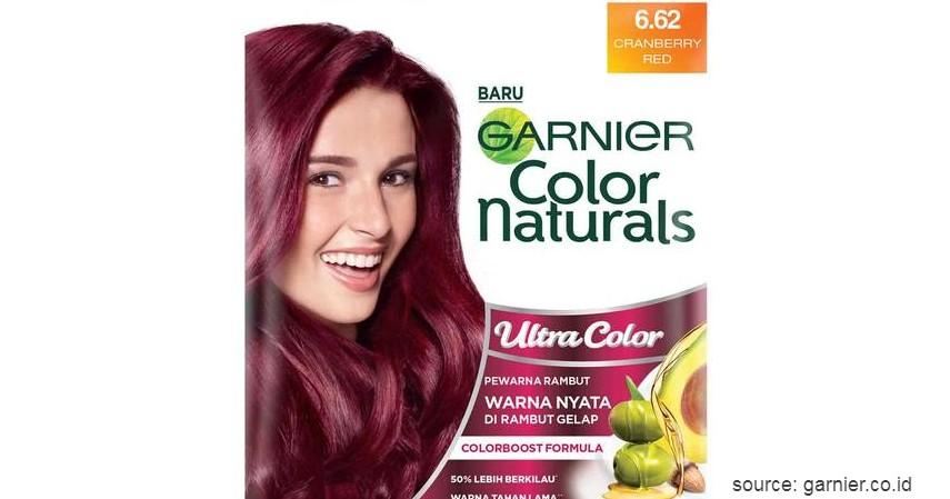 Garnier Color Naturals - 9 Merk Cat Rambut yang Bagus dengan Harga Terjangkau