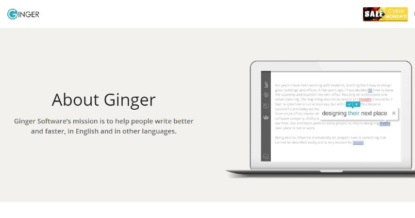 Ginger Grammar Checker - 12 Aplikasi Untuk Cek Tata Bahasa atau Grammar Inggris Gratis