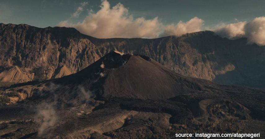 Gunung Rinjani - Gunung yang Buka saat Liburan Akhir Tahun