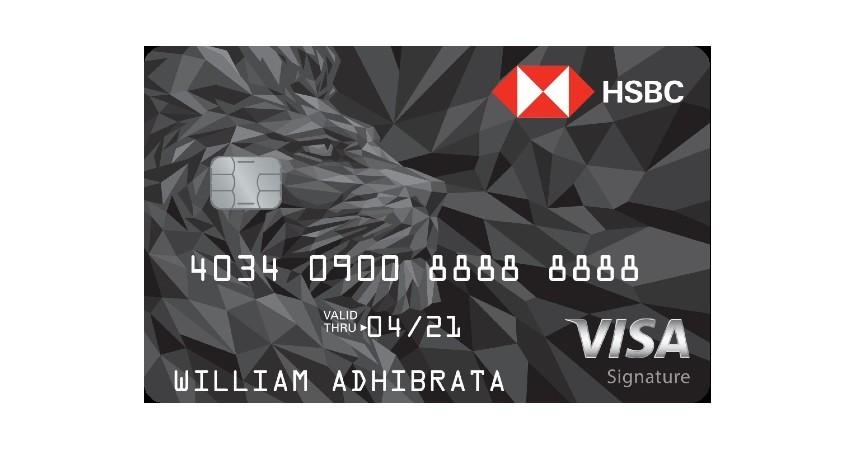 HSBC Visa Signature - 7 Daftar Kartu Kredit untuk Liburan ke Luar Negeri