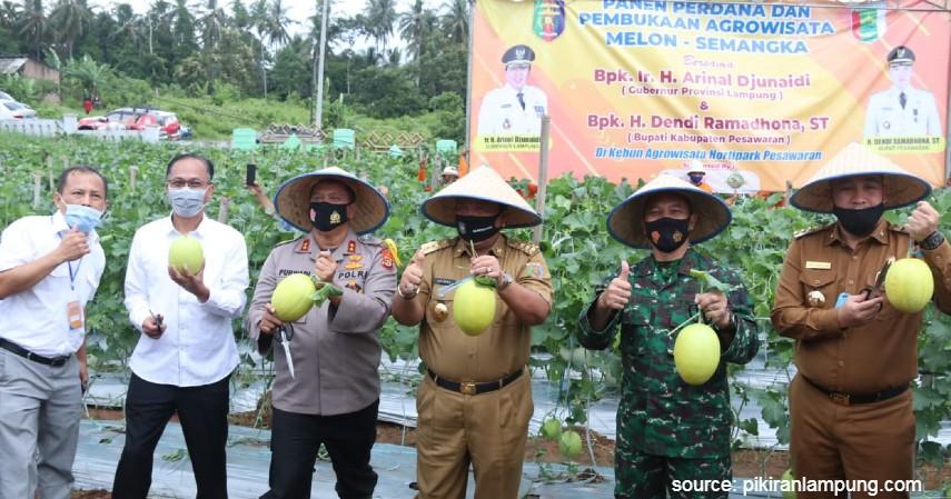 Hortipark Pesawaran Lampung - 5 Alternatif Agrowisata Saat Liburan Akhir Tahun 2020