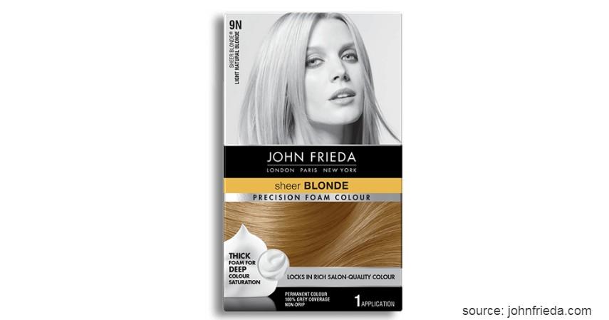 John Frieda Precision Foam Color - 9 Merk Cat Rambut yang Bagus dengan Harga Terjangkau