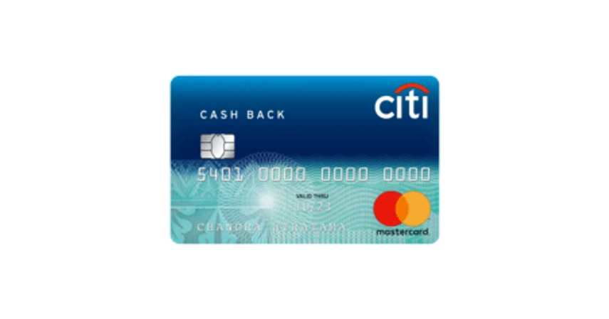 Kartu Kredit Citi Cash Back - 5 Kartu Kredit untuk Ibu Rumah Tangga