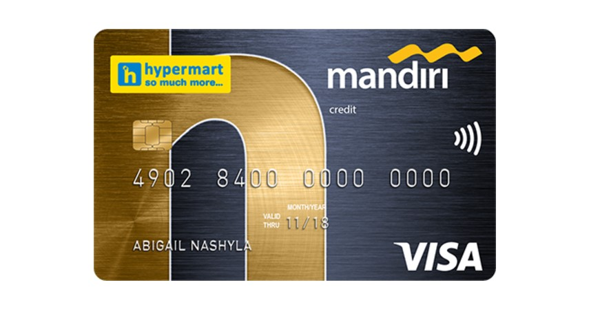 Kartu Kredit Mandiri Co Brand Hypermart - 5 Kartu Kredit untuk Ibu Rumah Tangga