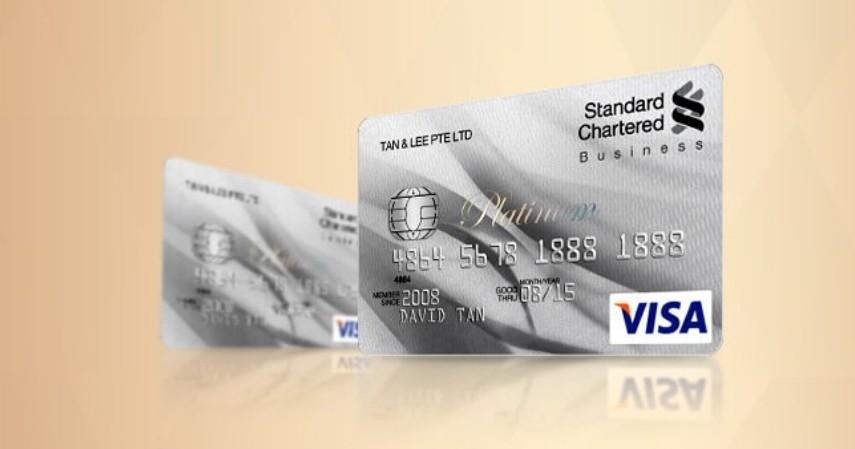 Kartu Kredit untuk Pedagang - Standard Chartered Visa Business Card Platinum