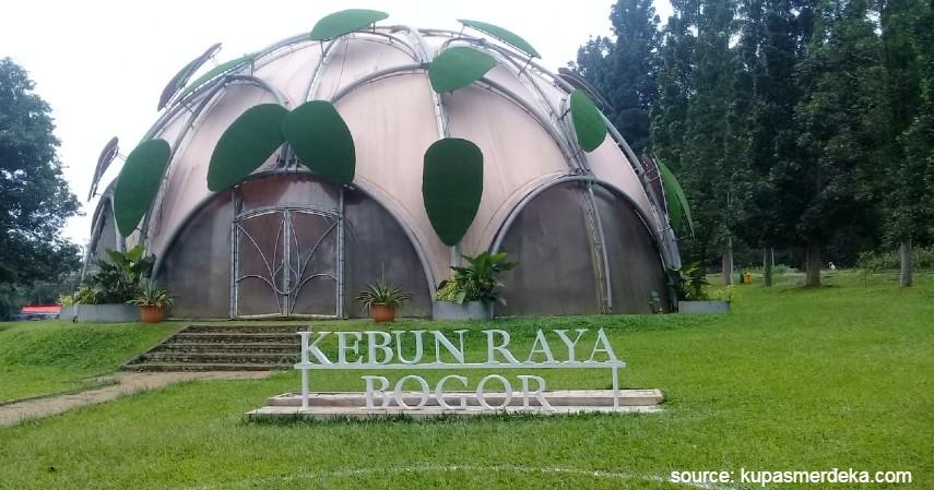 Kebun Raya Bogor - 5 Alternatif Agrowisata Saat Liburan Akhir Tahun 2020