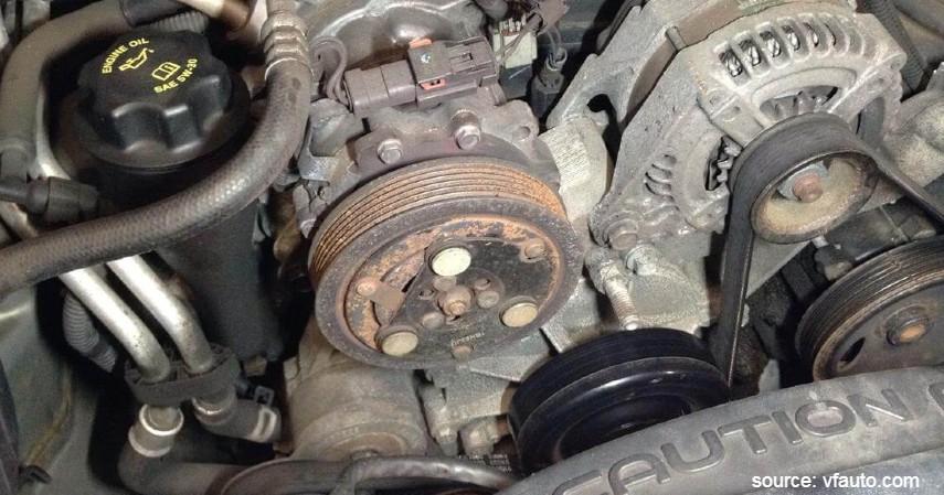 Kompresor Rusak - Penyebab AC Mobil Tidak Dingin Beserta Solusi